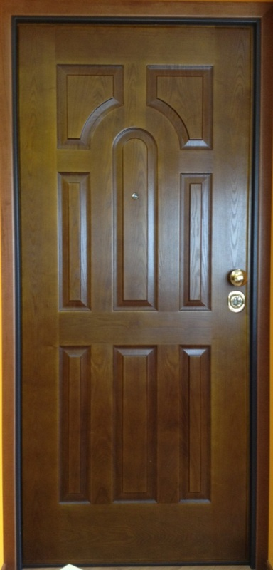 Serramenti stile vendita e posa porte blindate - Porta blindata esterno ...